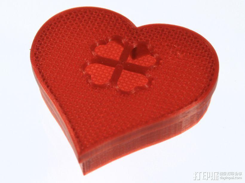 情人节礼物盒 3D模型  图7