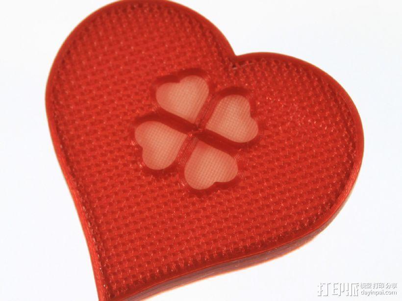 情人节礼物盒 3D模型  图9