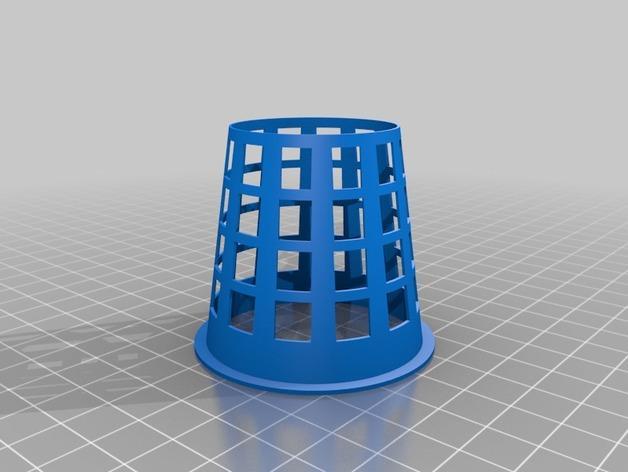 2英寸水培系统净锅 3D模型  图4