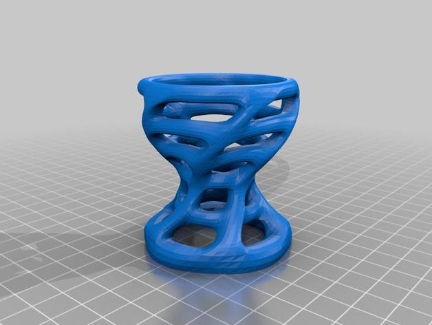 蛋杯V2 3D模型  图2