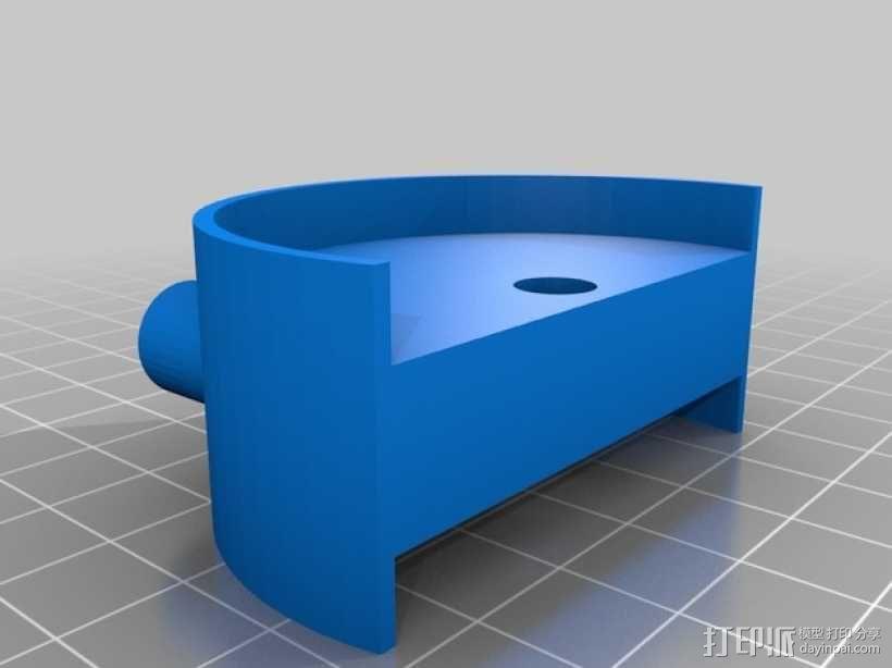 宜家转椅轮 3D模型  图3