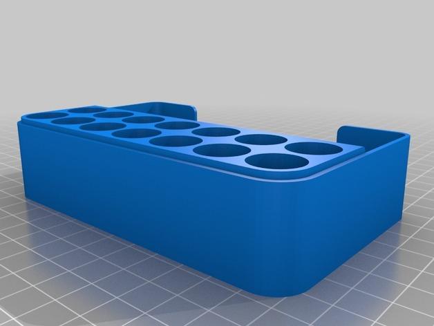 可充电电池盒 3D模型  图2