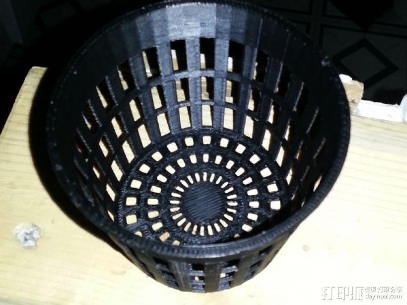 水培系统净锅 3D模型  图3