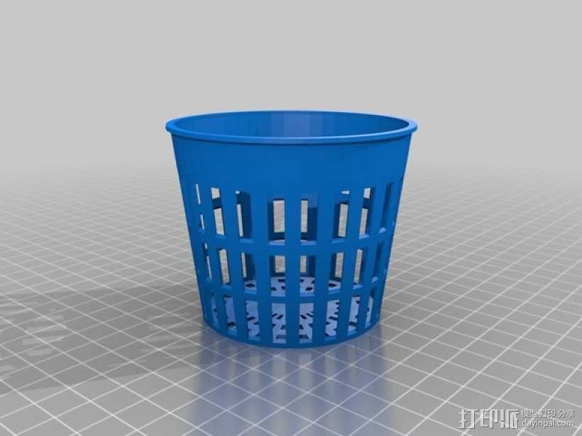水培系统净锅 3D模型  图2