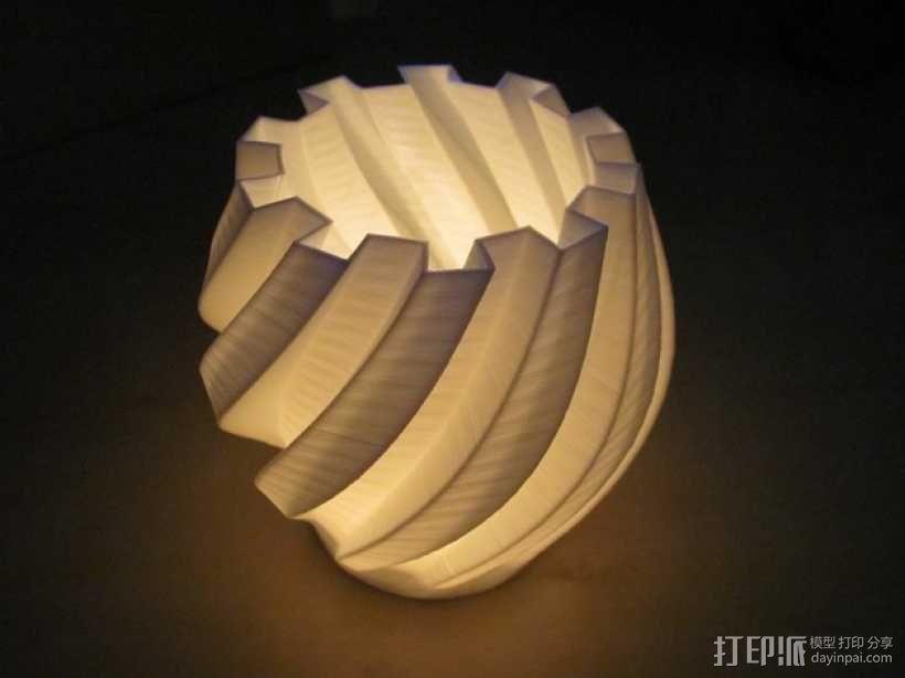 茶灯烛台套装 3D模型  图4