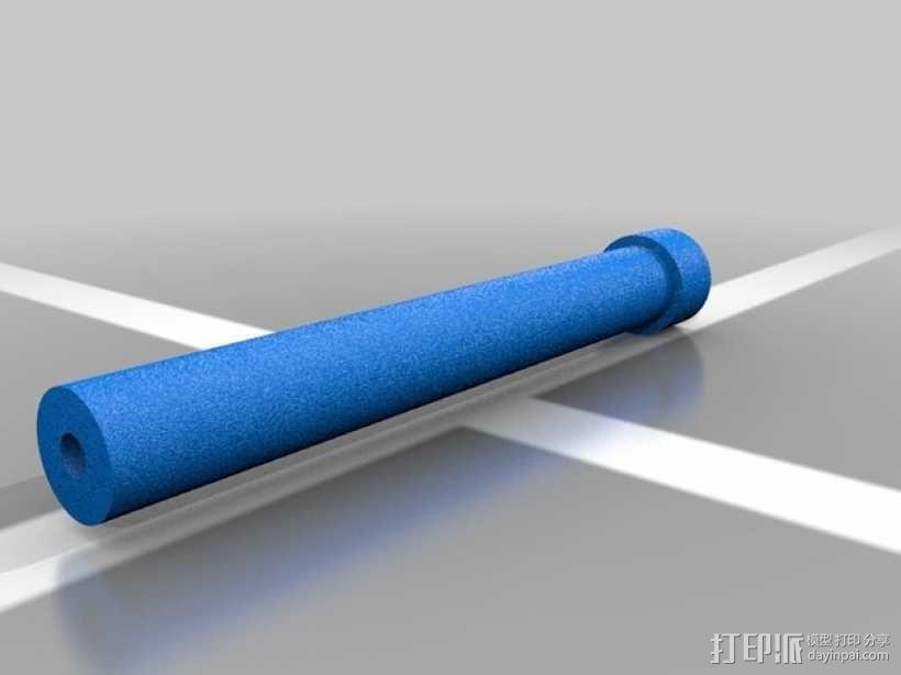 可伸缩门档 3D模型  图6