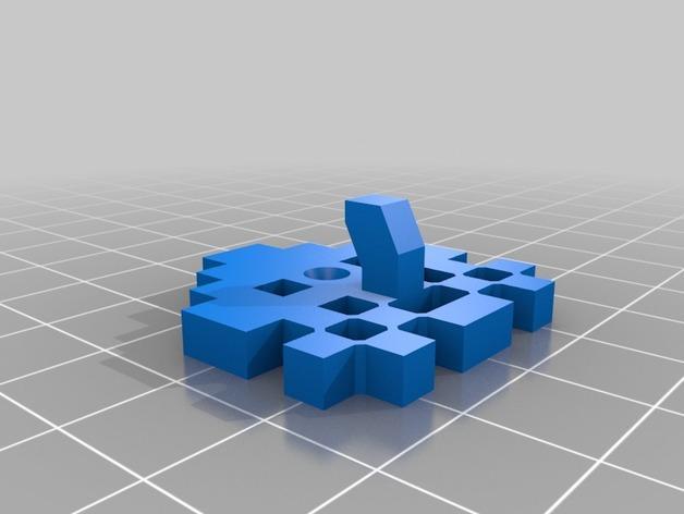 太空侵略者挂钩 3D模型  图6