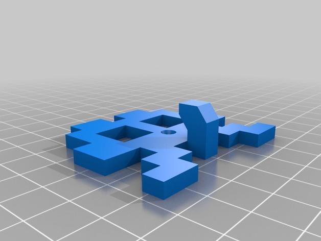 太空侵略者挂钩 3D模型  图10