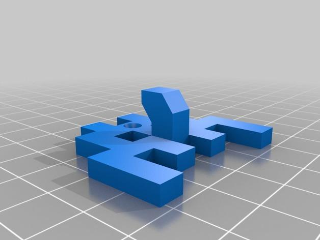 太空侵略者挂钩 3D模型  图8