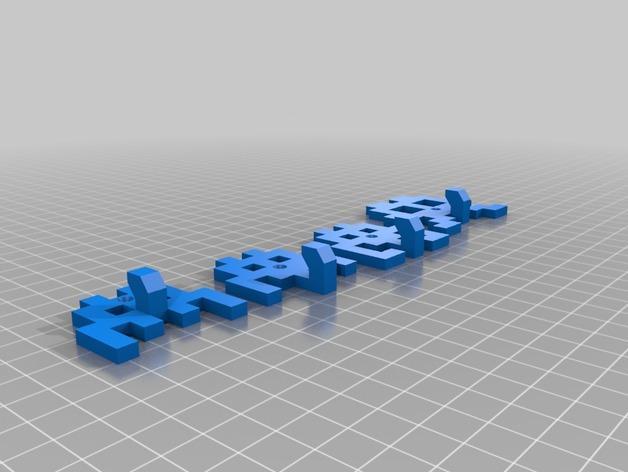 太空侵略者挂钩 3D模型  图11