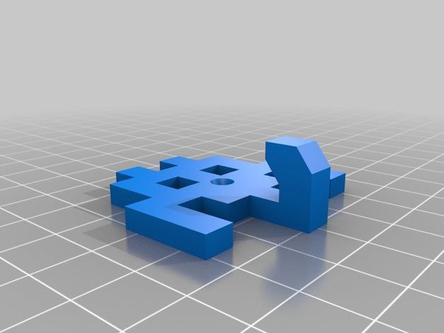 太空侵略者挂钩 3D模型  图12