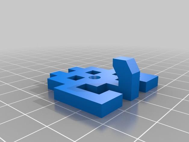太空侵略者挂钩 3D模型  图15