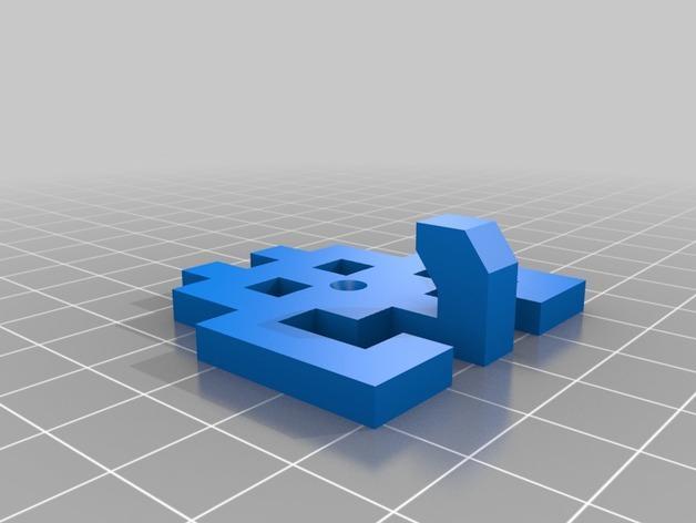 太空侵略者挂钩 3D模型  图14