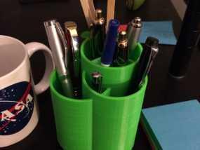个性化笔筒 3D模型