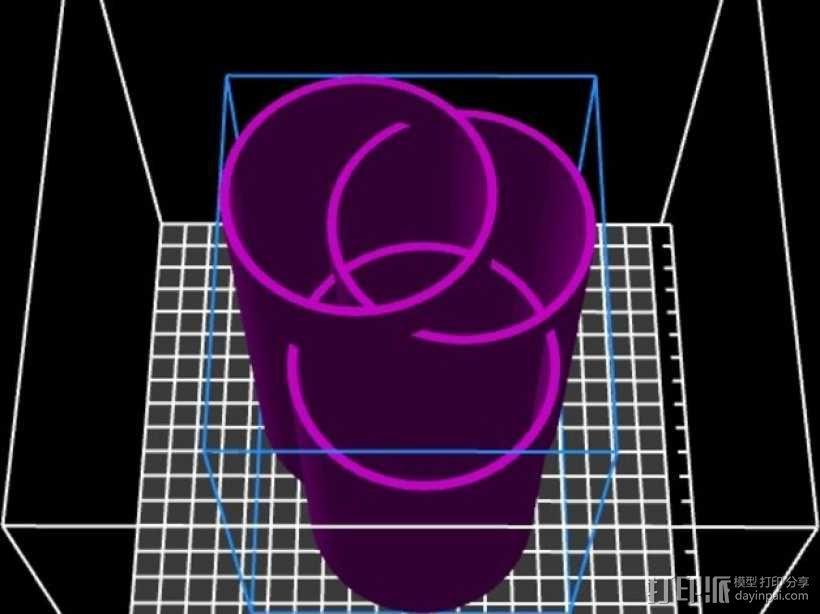 个性化笔筒 3D模型  图3