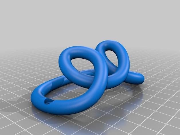 环形挂钩004 3D模型  图2