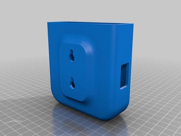 Roku 3智能电视盒外壳 3D模型  图2