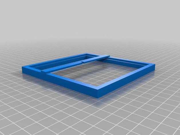 迷你Instagram相框 3D模型  图1