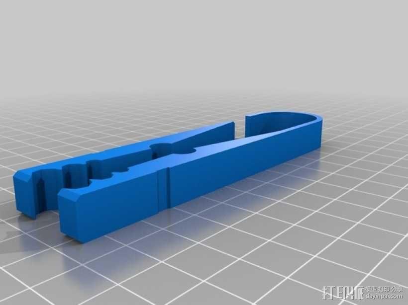 迷你挂衣钩 3D模型  图4