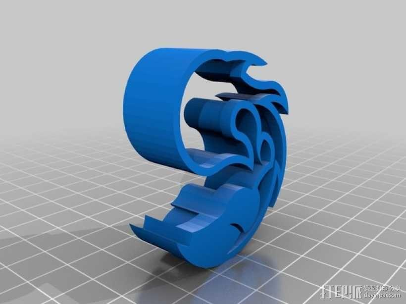 个性化饼干模具切割刀 3D模型  图2