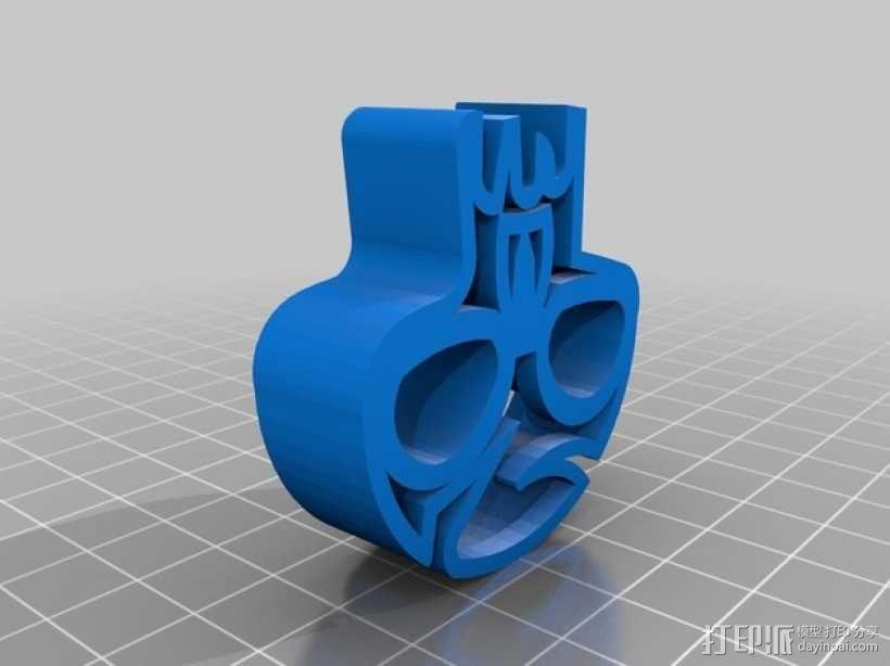 个性化饼干模具切割刀 3D模型  图5