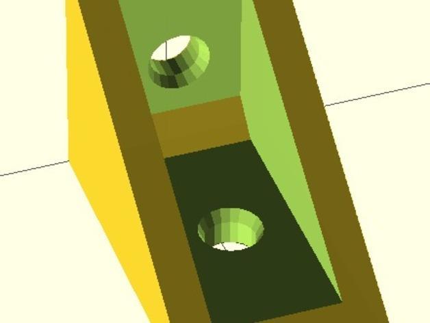 搁板托座 3D模型  图7