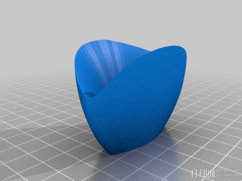 装饰品:情人节之吻 3D模型  图4