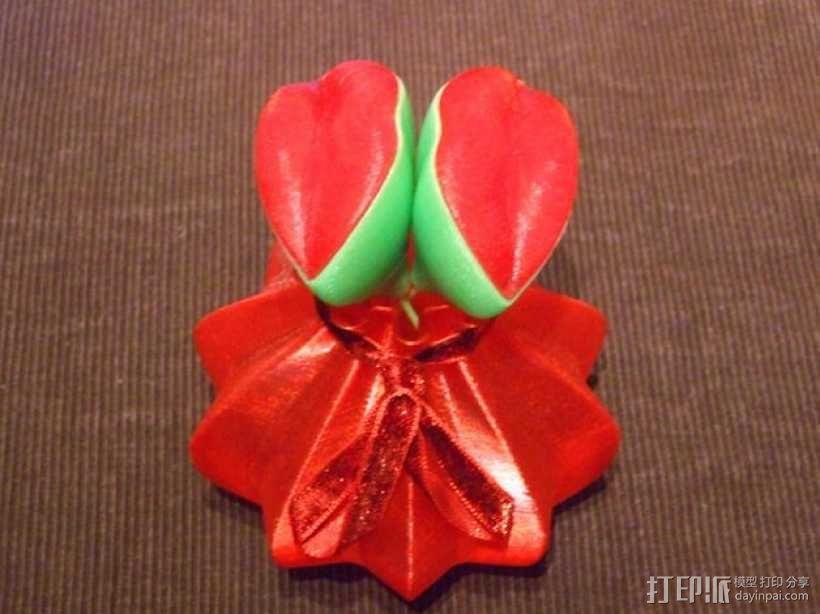 装饰品:情人节之吻 3D模型  图8