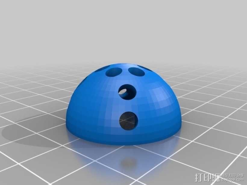 小猫玩具:叮当球 3D模型  图4