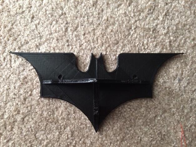 迷你蝙蝠形搁板 3D模型  图5