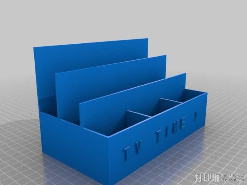 定制化遥控器盒 3D模型  图2