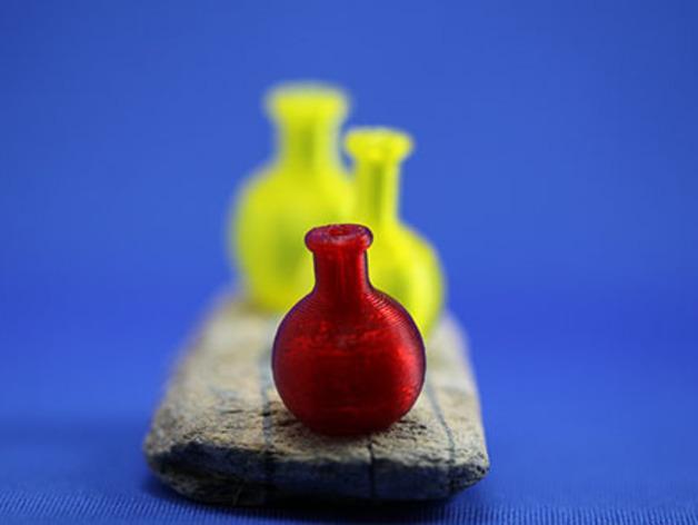 迷你药水瓶 3D模型  图3