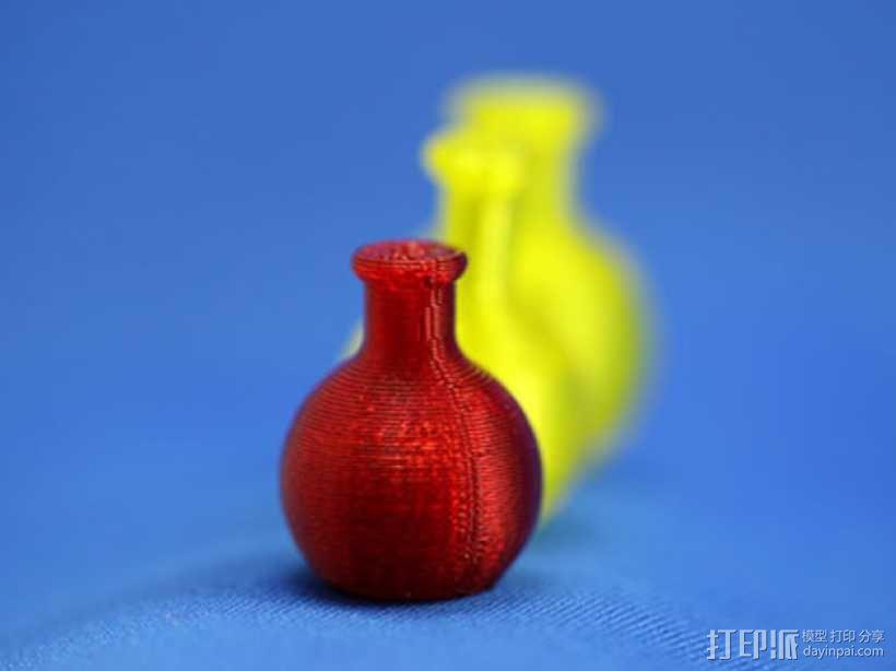 迷你药水瓶 3D模型  图1