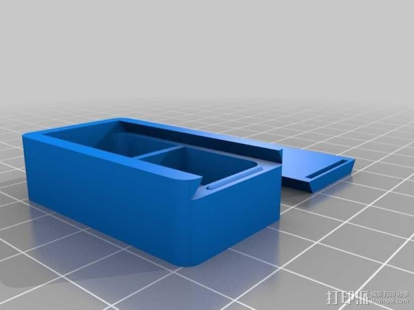 滑盖式定制化小盒 3D模型  图2