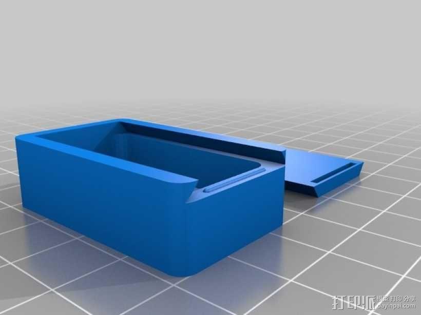滑盖式定制化小盒 3D模型  图3