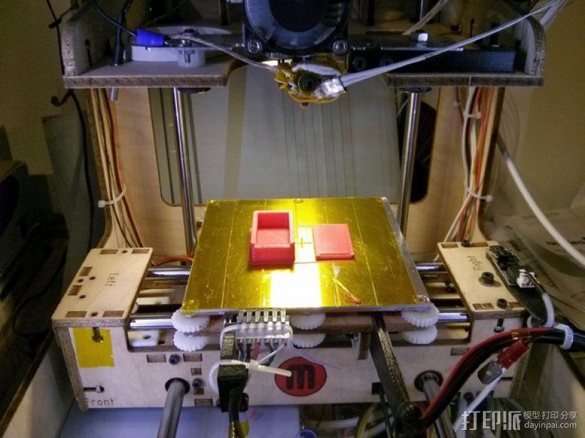 滑盖式定制化小盒 3D模型  图4