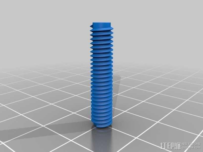 壁挂式盆栽/搁板把手 3D模型  图3