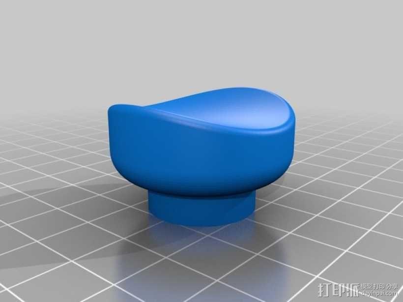 壁挂式盆栽/搁板把手 3D模型  图4