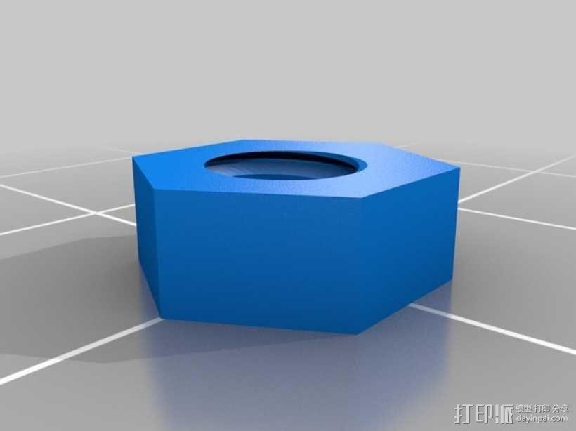 壁挂式盆栽/搁板把手 3D模型  图7
