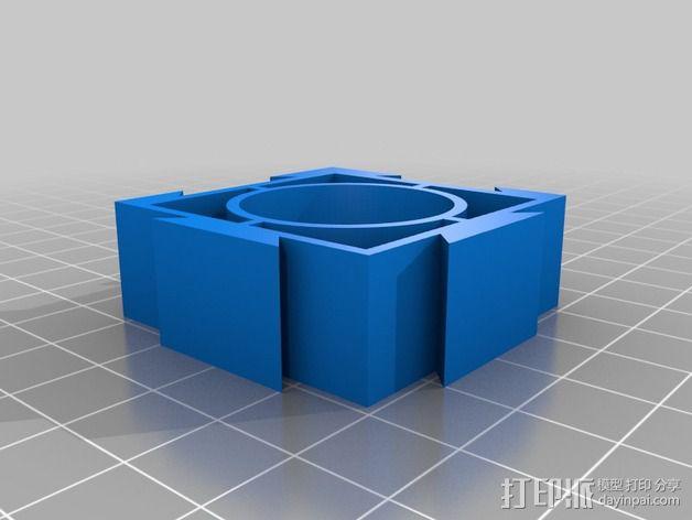 模块化电池盒 3D模型  图4