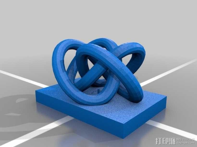个性化笔架 3D模型  图4