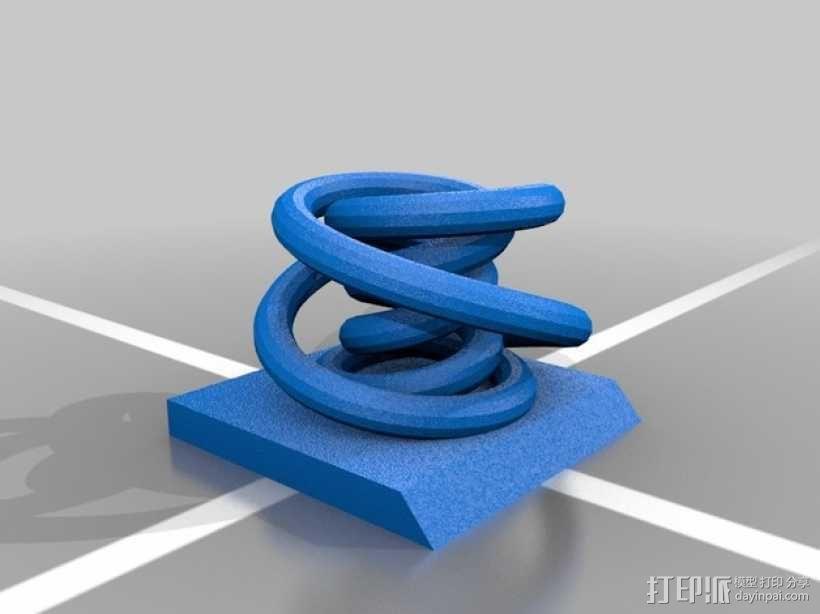 个性化笔架 3D模型  图5