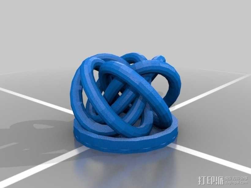 个性化笔架 3D模型  图6