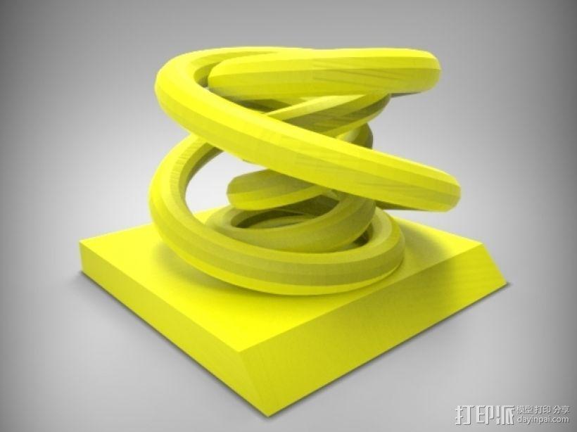 个性化笔架 3D模型  图7