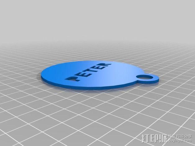 定制化咖啡板 3D模型  图2