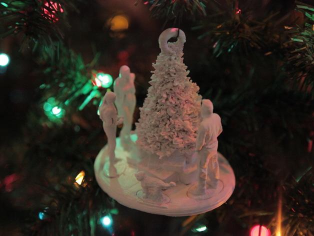 圣诞礼物装饰品 3D模型  图3