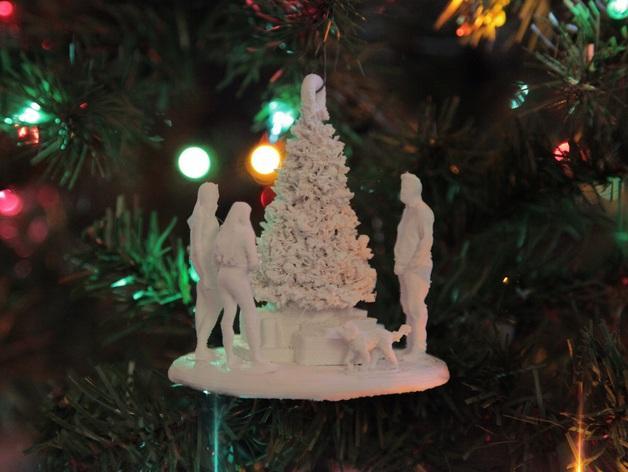 圣诞礼物装饰品 3D模型  图2