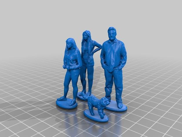 圣诞礼物装饰品 3D模型  图4