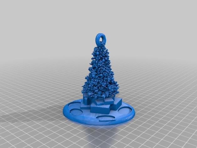 圣诞礼物装饰品 3D模型  图5