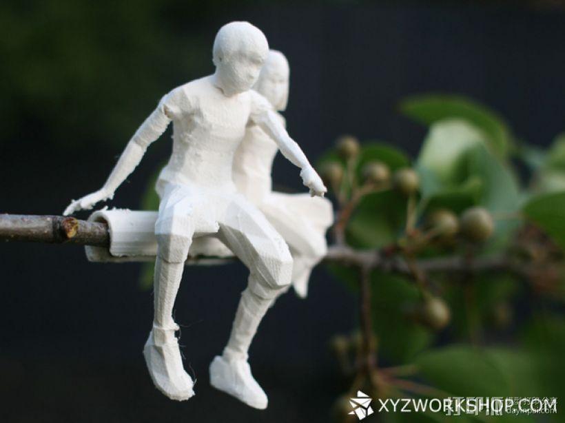 圣诞树装饰品:圣诞老人 3D模型  图6